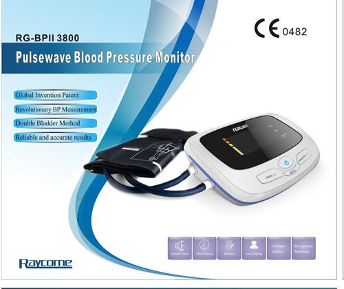 Home Blood Pressure Monitors Raycome Pulsewave Monitor Rg Bpii3800