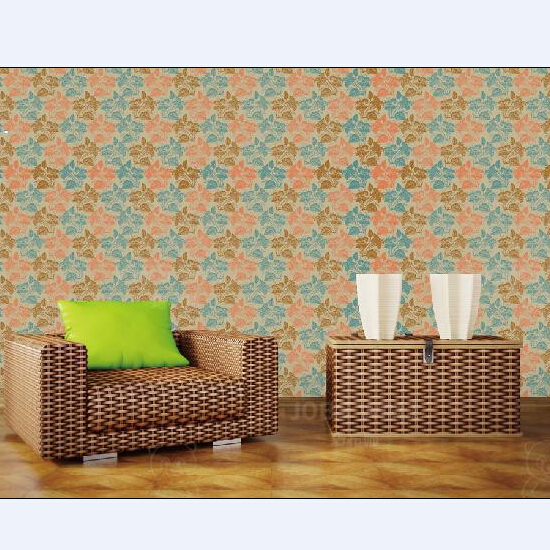 Home Indoor Wall Decoration Products Wallpaper Textile Fabric