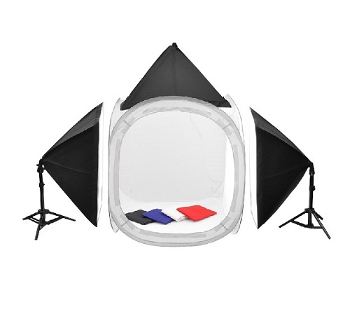 Home Photo Kit With Tent
