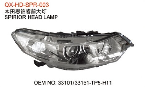 Honda Spirior Front Headlight