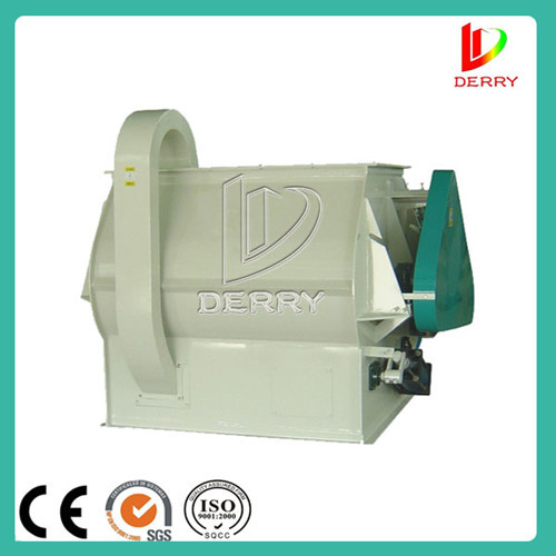 Horizontal Double Shaft Paddle Mixer For Poultry Feed