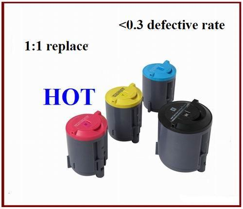 Hot Compatible For Samsung Clp300 K C M Y Toner Cartridge