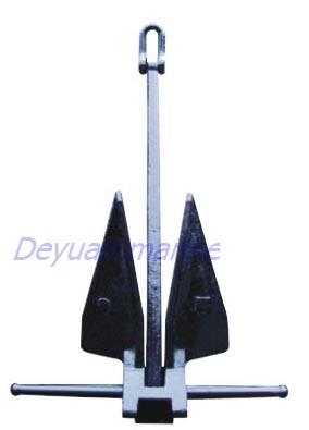 Hot Dip Galvanized Danforth Anchor
