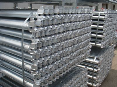 Hot Dip Galvanized Ringlock System Scaffolding