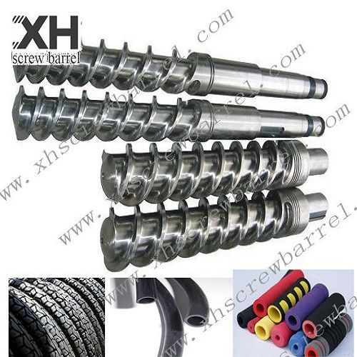 Hot Feed Rubber Machine Screw And Barrel