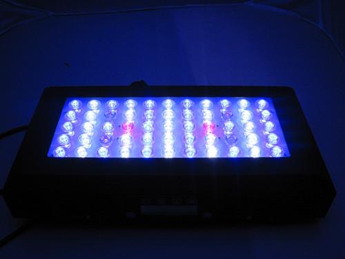 Hot Sale 120w 55x3w Epistar Aquarium Led Automatic Dimmer Timer Light 3 Cha
