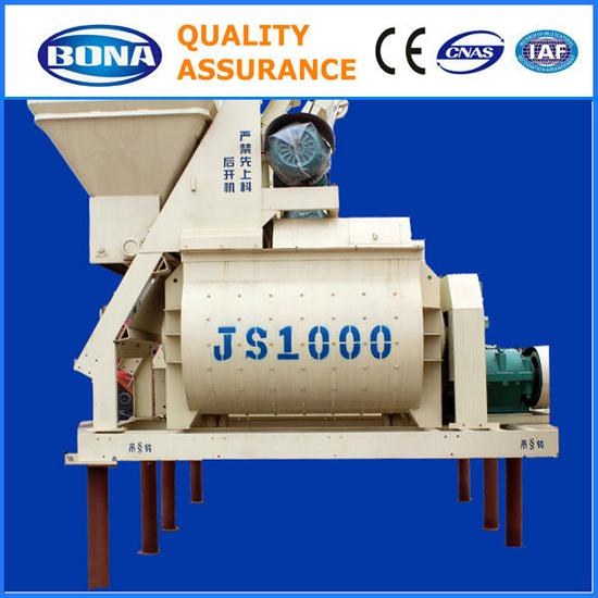 Hot Sale Construction Js1000 Concrete Mixers
