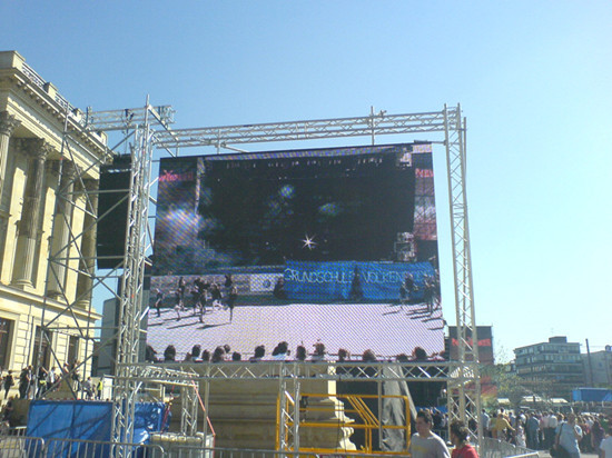 Hot Sale Outdoor Full Color Led P16 Display Screen Video Wall