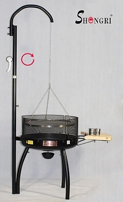 Hot Selling Outdoor Bbq Grill Barbecue Shengri Cast Iron