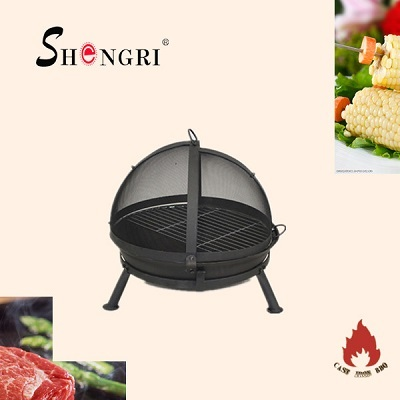 Hot Selling Outdoor Bbq Grill Shengri Cast Iron
