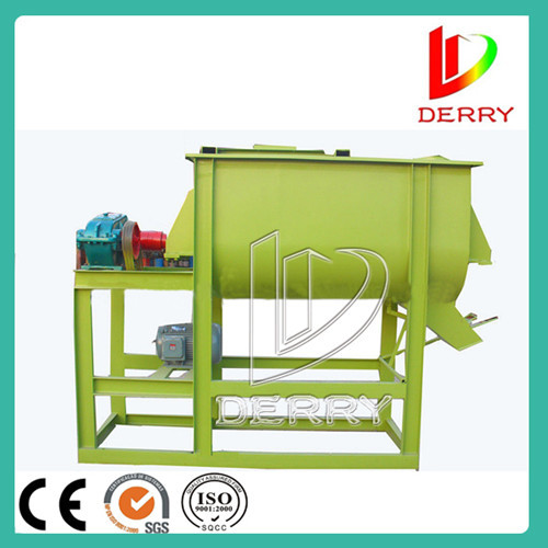 Hot Selling Single Shaft Twin Ribbon Mixer Blender For Poultry Animal Feed