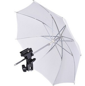 Hot Shoe Flash Holder Umbrella Starter Kit