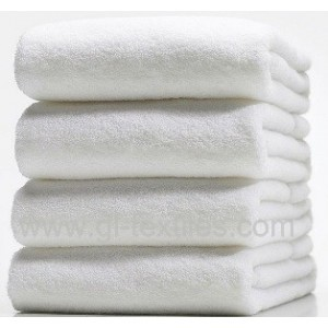 Hotel Cotton White Bath Towel