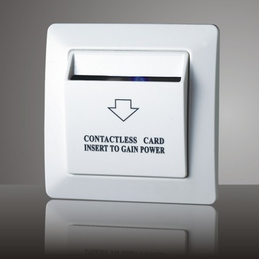 Hotel Energy Saving Key Card Controlled Switch Delay Time Maximum Load Po
