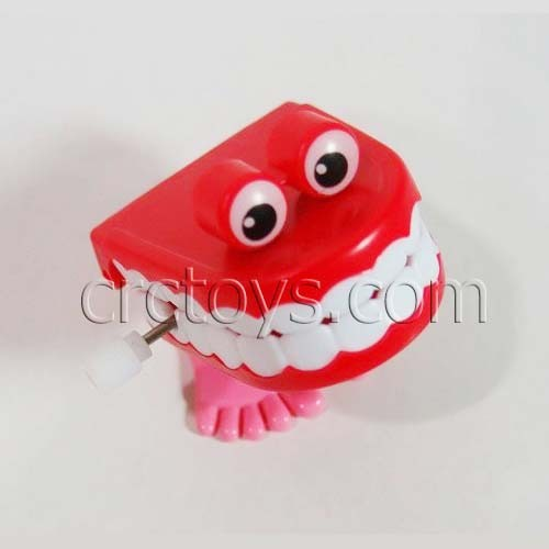 Hotsell Lovely Wind Up Jumping Teeth With Eyes Holloween Toys