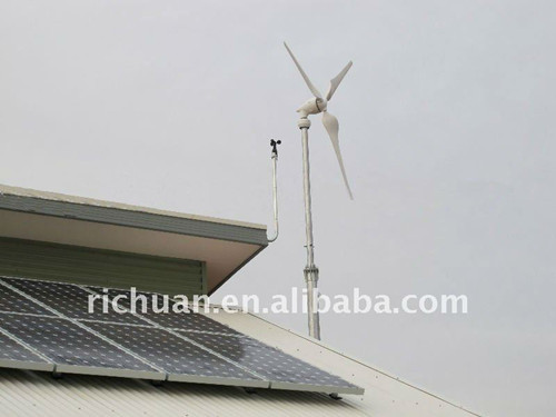 House Using Wind Solar Hybrid System For Sale