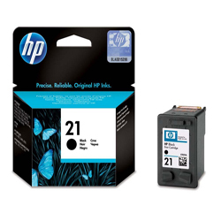 Hp 21 C9351ae Black Ink Cartridge