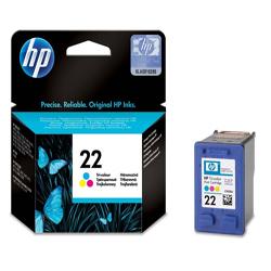 Hp 22 C9352ae Tri Colour Ink Cartridge