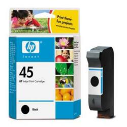 Hp 45 51645ge Black Ink Cartridge