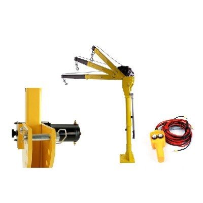 Hp1000 12v Dc Mini Truck Crane Electric Hoist