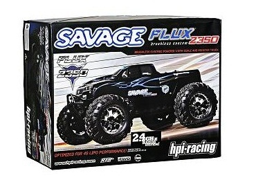 Hpi Savage Flux 2350 1 8 Scale 4wd W 2 4ghz Transmitter Gt T