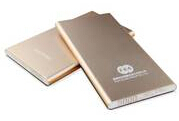 Hundai Huozhong Aluminium Alloy Ultra Slim Design Power Bank