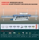 Hxm9320b Glass Straight Line Beveling Machine
