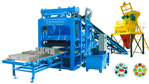 Hydraulic Block Making Machine Qty4 20b Synchronous Demoulding Brick Machin