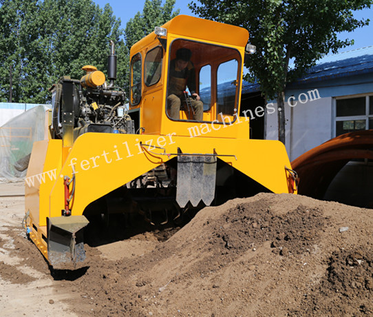 Hydraulic Compost Turner Window For Sale