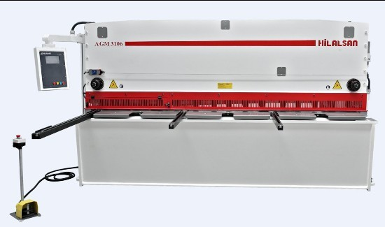 Hydraulic Variable Rake Cnc Shear