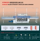 Hym4320 Glass Straight Line Circular Edging Machine