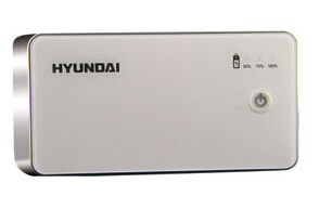 Hyundai Huozhong Polymer Power Bank With Slim Design