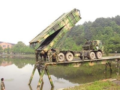 Hz Modular Mechanized Bridge Military Heavy Equipment