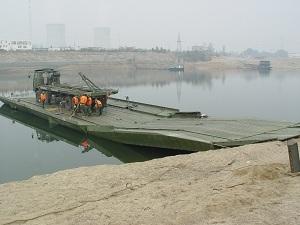 Hz Power Pontoon Bridge Military Heavy Equipment