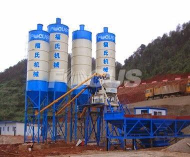 Hzs50 Concrete Baching Plant