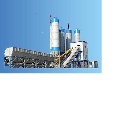 Hzs90 Concrete Batch Station