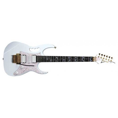 Ibanez Jem7v Steve Vai Signature Electric Guitar With Case White