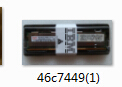 Ibm 46c7449 Pc3l 10600 Cl9 Ecc Ddr3 1333mhz