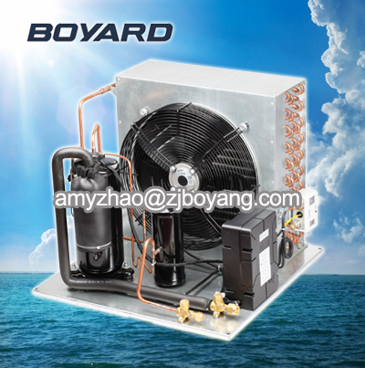 Ice Making Machine With Refrigeration Compressor Condensing Unit