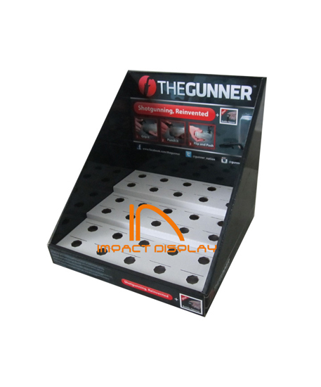 Impact Display Corrugated Cardboard Countertop Disply Stand Pdq