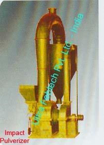 Impact Pulverizer Size Reduction Machine