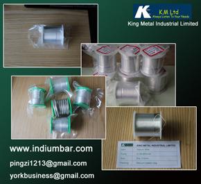 Indium Wire Thread Line