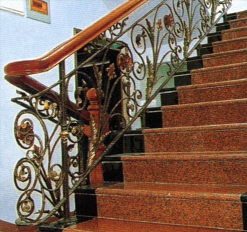 Indoor Iron Spiral Stairs Staircase Banisters Stairway Handrails Stair Rods