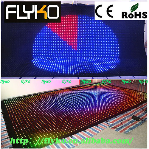 Indoor Led Video Curtain
