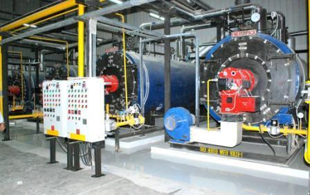 Industrial Boiler Gas Fired