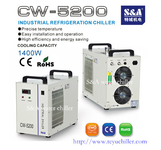 Industrial Chiller Cw 5200 For Edm Machine