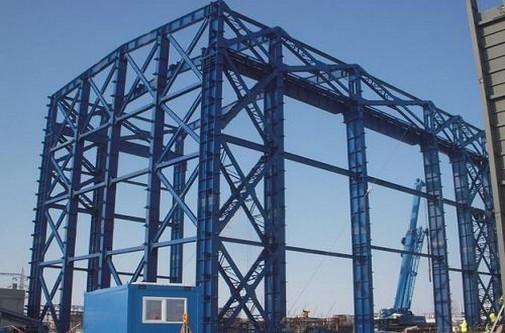 Industrial Heavy Steel Framework