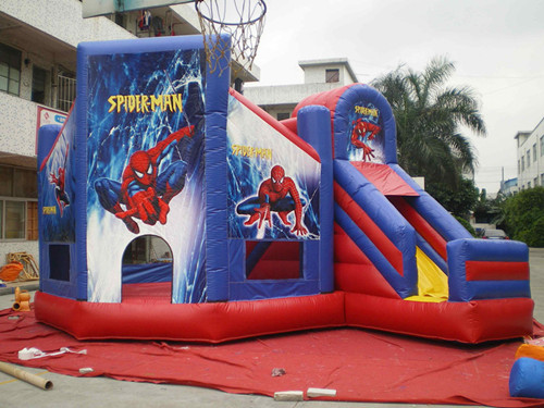 Inflatable Spideran Bouncer