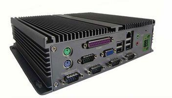 Intel Atom D525 Fanless Embedded Computer 4com 2wlan