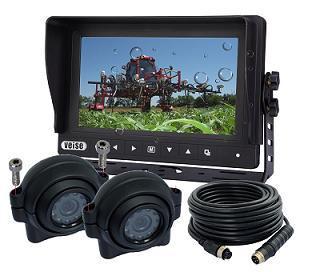 Ip 69k Watreproof Monitor Camera System